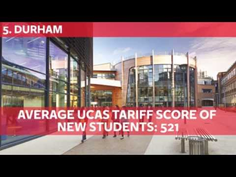 The 20 hardest British universities to get into