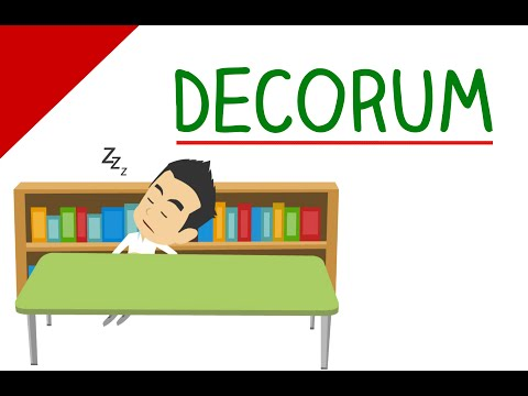 Learn English Words - Decorum - Animated Videos That Make Learning Fun & Engaging For The Classroom