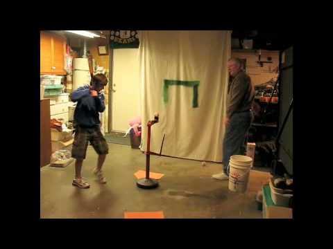 Batting Practice in-Garage