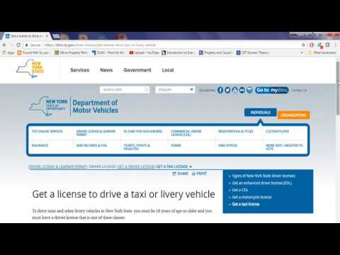 HOW TO GET CLASS E DRIVER LICENSE IN NYS