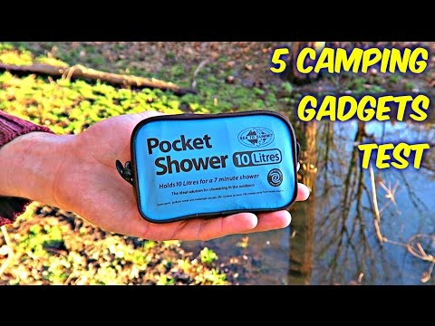 5 Camping Gadgets put to the Test