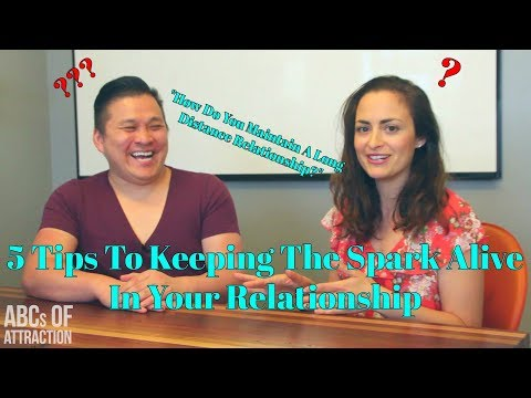 Relationship Coach: How To Keep The Spark Alive In Your Relationship & If It's Long Distance (LDR)