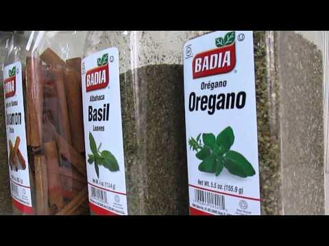 Badia Culinary Spices: Basil, Oregano, Cinnamon Sticks, Italian Seasoning