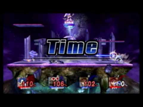 Brawl (Sonic) - Spear Pillar is my Favorite Stage