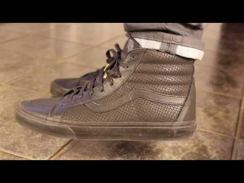 e5bcbfd6f7 Vans Era Snake Black and Brown Unboxing and Review - Snake Leather Vans