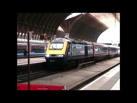 Trains & Buses at Paddington Station - June 2013