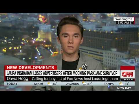 Must-See Moments: Laura Ingraham vs. David Hogg