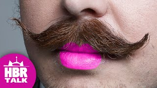 Getting lippy about Movember | HBR Talk 108 opener