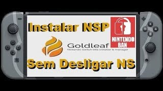 How to install NSP files via USB with Goldleaf & Goldtree
