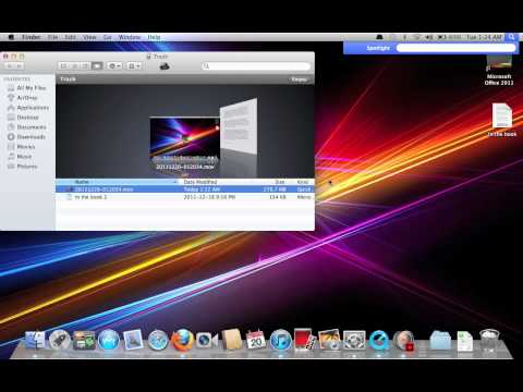 HOW TO DELETE SPECIFIC TRASH FOR MACBOOK PRO