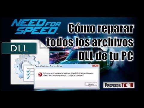 Fácil descarga e instala archivos DLL de tu PC  Repair all the DLL files of your PC