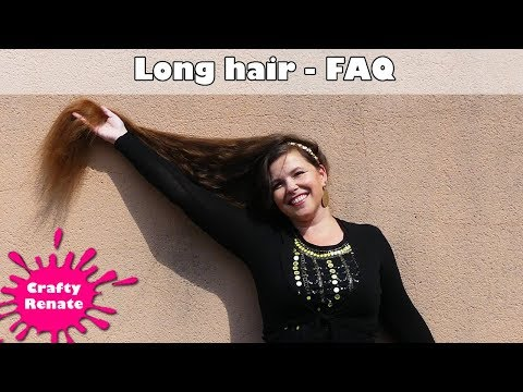 Long hair FAQ - answering common questions about my hair