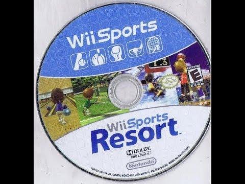 Wii Sports + Wii Sports Resort: 2 Games on 1 Disc Bundle Version