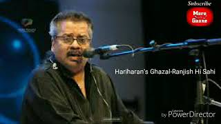 Ghazal Ranjish hi sahi