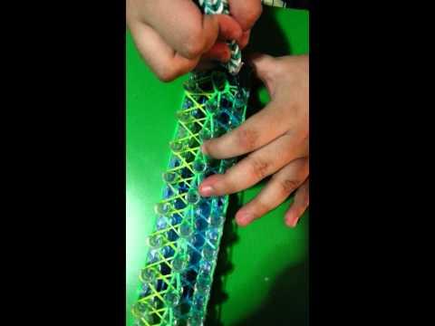 How to make a rainbow loom cobra bracelet