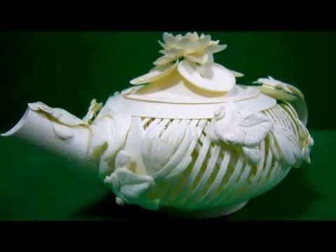 IvoryTeapot - Paper Sculpture by Lino E. X. Gomes (立體紙雕)