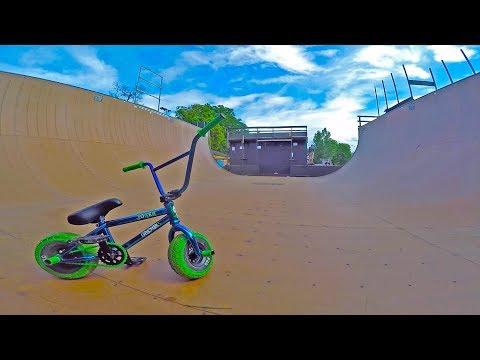 INSANE MINI BMX RIDING IN VERT RAMP 2!