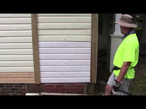Wooden Siding House Repair