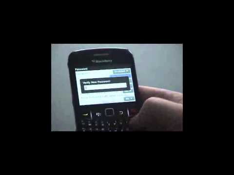 Setting a Password to Secure Your Blackberry Smartphone