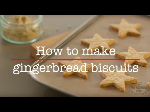 How to make gingerbread biscuits | Good Housekeeping UK