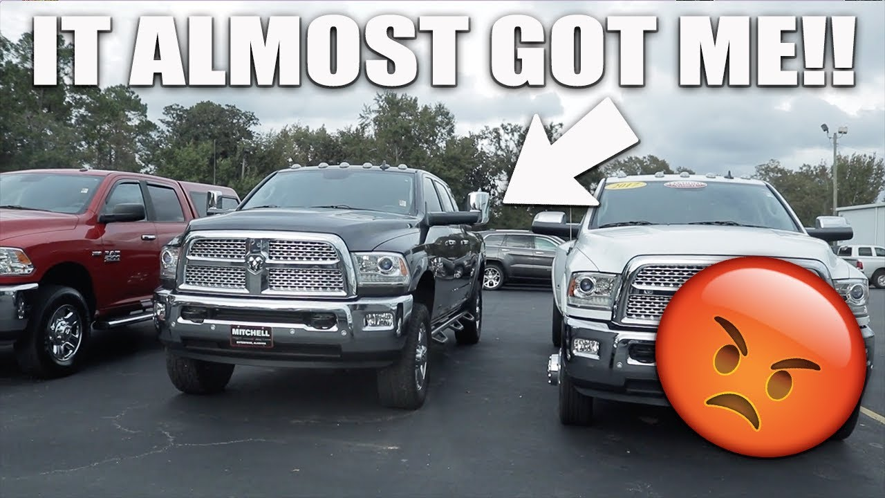 So glad I didn't buy this truck.. one thing to ALWAYS check before buying a new Diesel!