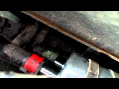 2008 Ford Focus Fuel Filter Change
