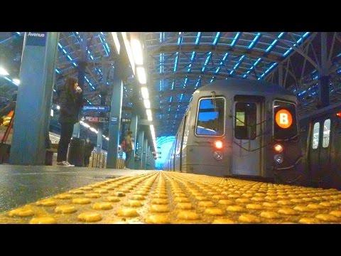 [MTA]: NIS R68-A (B) Train Bypassing Coney Island