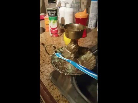 ❤ How to Clean Brass Naturally! ❤