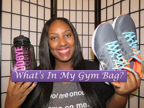 What's In My Gym Bag???
