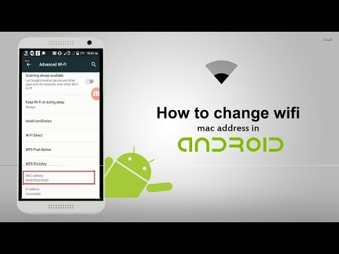 How to change wifi mac address in android phone- royal brand sb