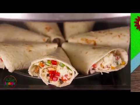 Chicken Quesadilla Recipe - How to make Quesadilla at home by SooperchefJunior