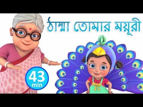 Xxx Mp4 ঠাম্মা তোমার ময়ূরী Nani Teri Morni Bengali Rhymes For Children Jugnu Kids Bangla 3gp Sex