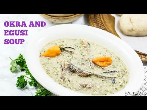 Cameroonian Okra Soup Recipe - Precious Kitchen - Episode 30