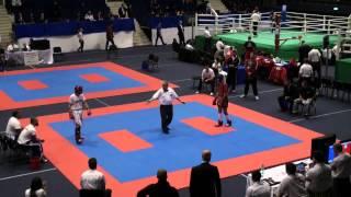 Wako Kickboxing - Ec 2012 - Kl63kg Crotti(ita) Vs. Iohut(rom)