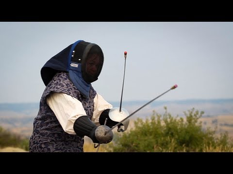 Yellowstone Sword Club recreates medieval fighting style