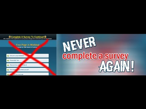 How To Bypass Any Online Survey 2020
