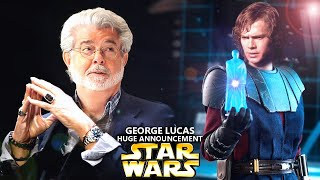George Lucas WILD Announcement Will Shock Fans! This Is Unexpected (Star Wars Explained)