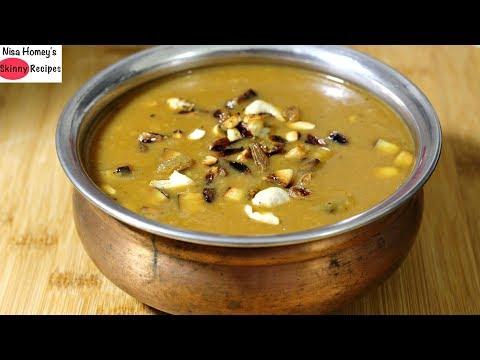 Moong Dal Ka Payasam - Cherupayar Parippu Payasam - Healthy Kerala Recipes - Kerala Vishu Special