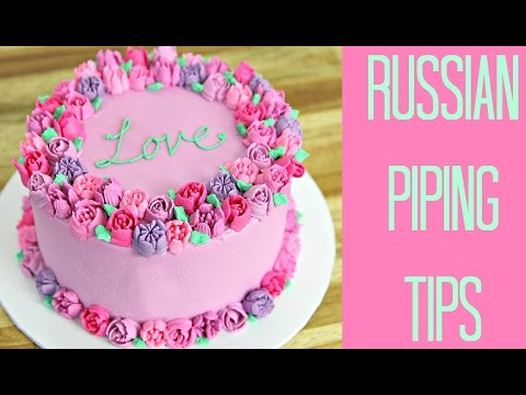 Russian Piping Tip Testing! - CAKE STYLE