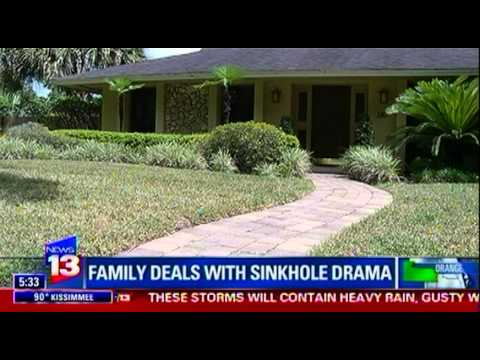 Family lives above sinkhole for 6 years, sues insurance company