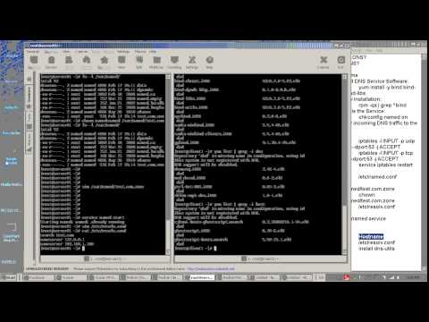 How to Configure DNS Server - Red Hat شرح