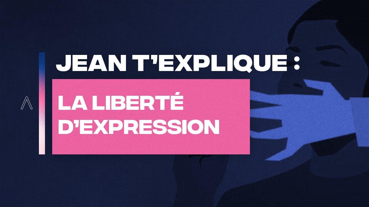 LA LIBERTÉ D'EXPRESSION - JEAN MASSIET T'EXPLIQUE
