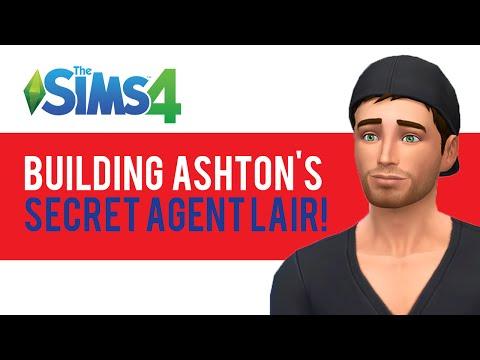 The Sims 4 — Building Ashton's Secret Lair — LP