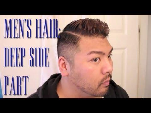 Men's Hair Tutorial: Side Part   runjacerun