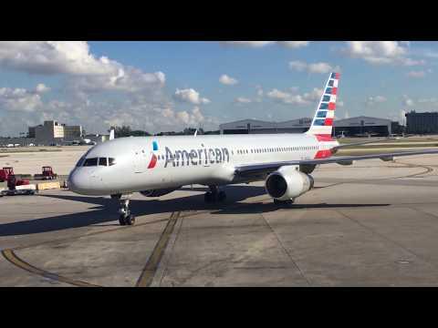 American Airlines 757-200 Trip Report Miami to Dallas (Full Flight)
