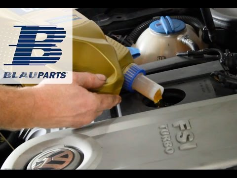 How To Change Audi VW Motor Oil and Filter - 2.0T FSI Engines