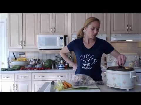 How to Cook Chicken Stock in a Crock Pot: Cooking with Kimberly