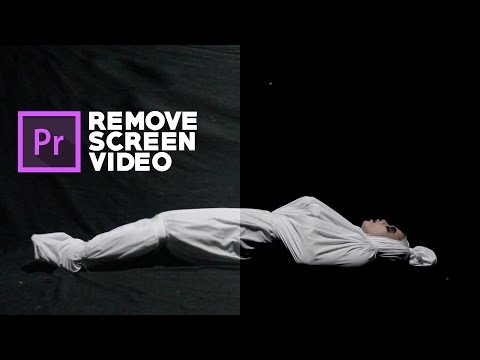 How to remove Shadow video screen Adobe premiere