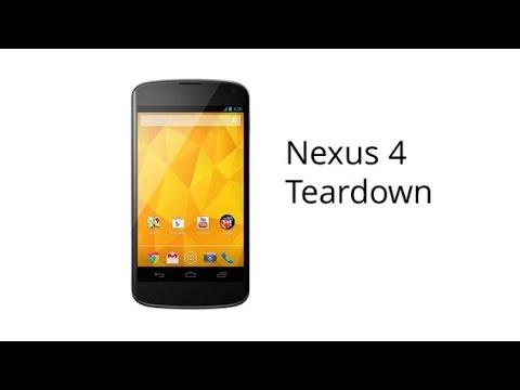 LG Nexus 4 Disassembly