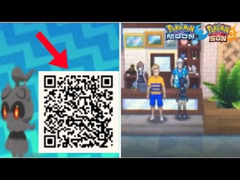 Pokemon Sun And Moon Marshadow Qr Code Event Pardoy Playithub